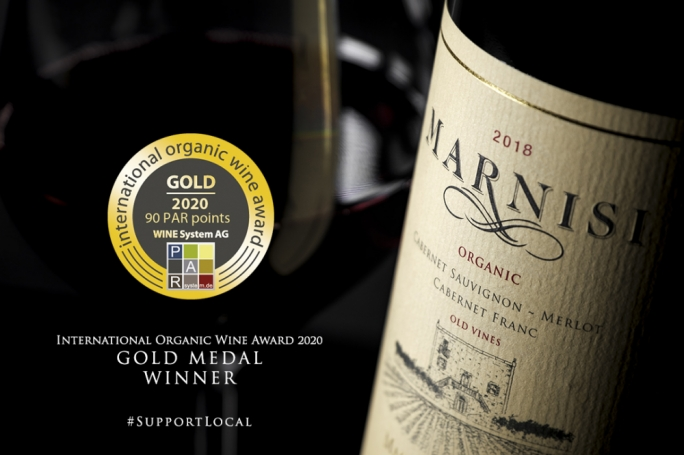 Marsovin wins top international award for Marnisi Organic wine